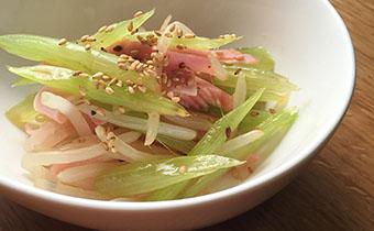 ふきの中華風サラダ