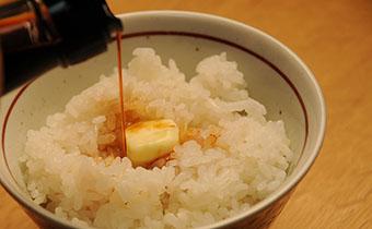 バター醤油ご飯