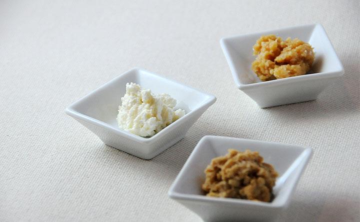 みりん粕のディップ3種