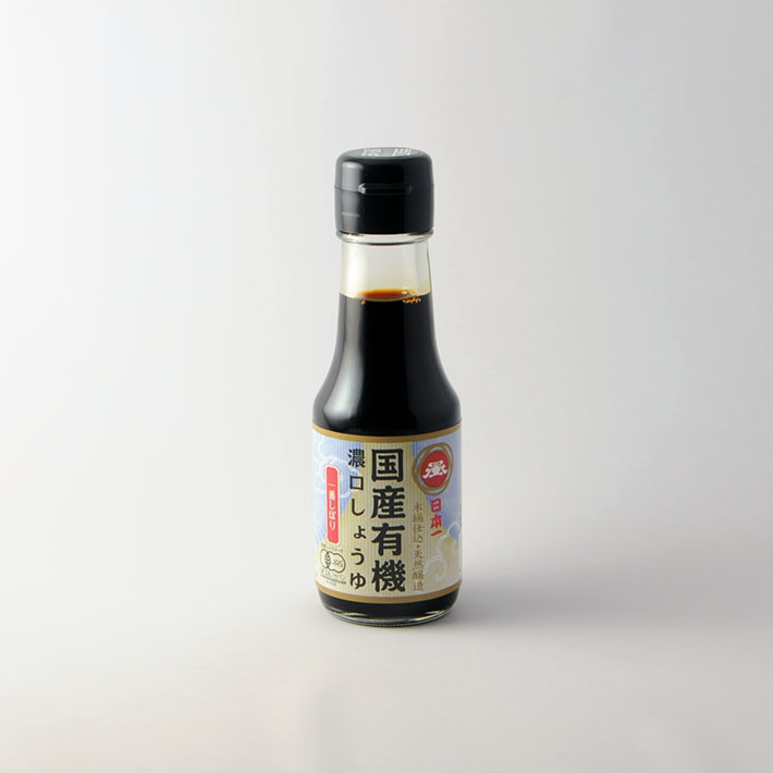 07.にほんいち醤油 一番しぼり 100ml