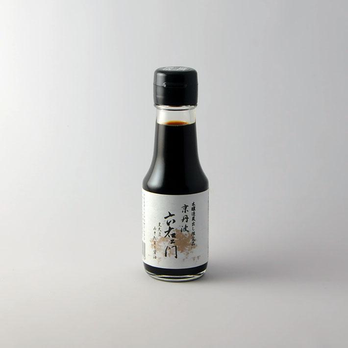 17.京丹波六右ェ門 黒大豆みそたまり100ml