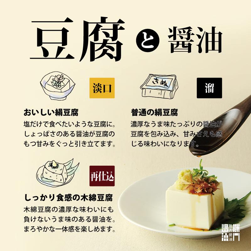 豆腐におすすめの醤油